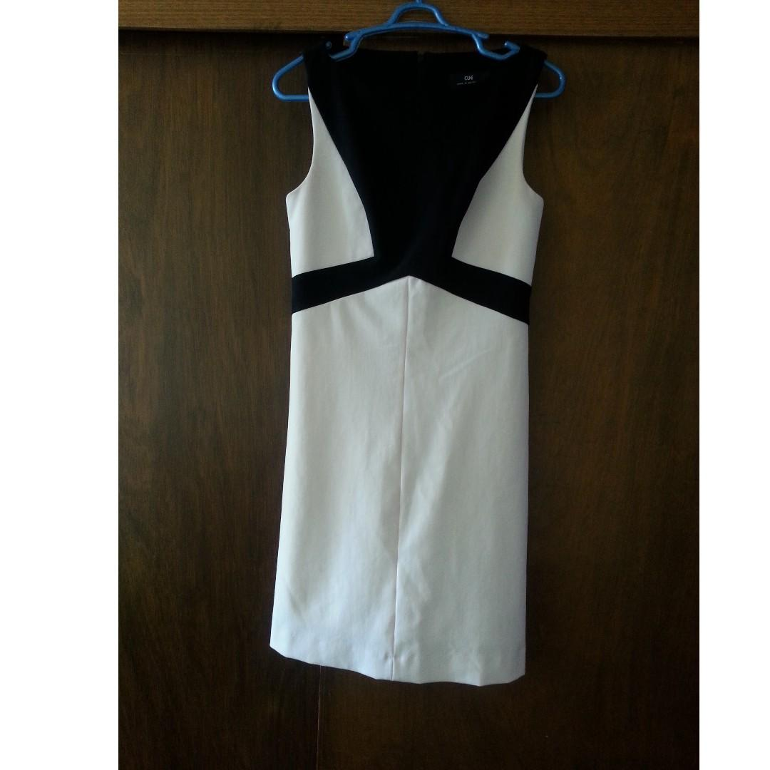 EUC Cue size 8 Shift Dress (looking for size 6 too!) colour block