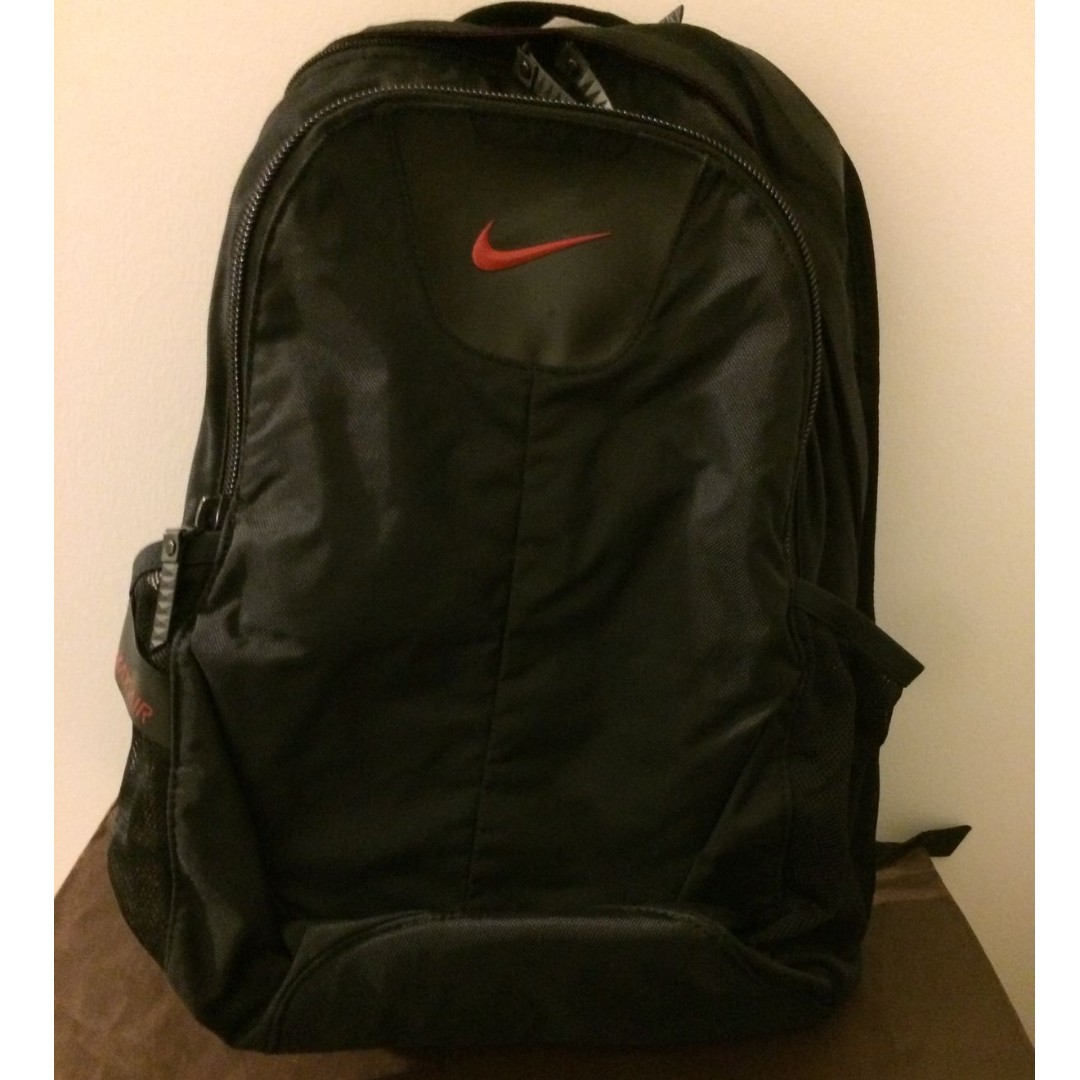 1a4c1db0909e Excellent Condition  Nike Backpack Air Max Black Bag