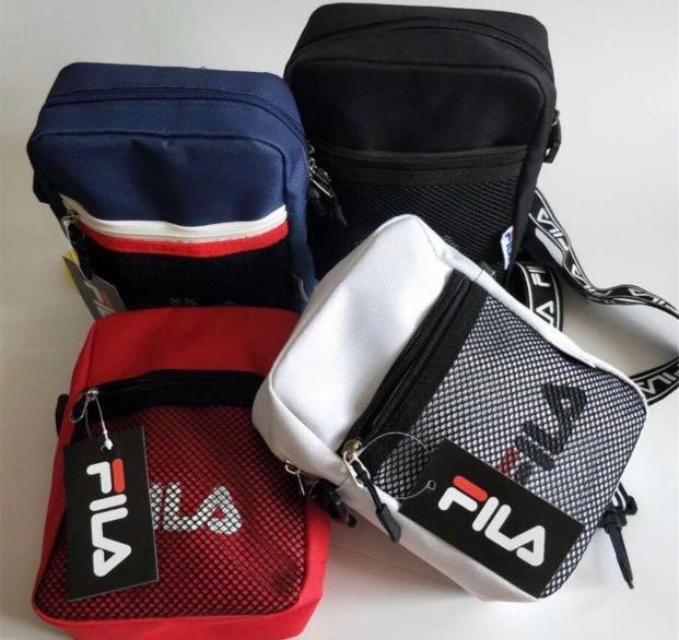 d4f8ddfd7d FILA Unisex messenger crossbody bag, Women's Fashion, Bags & Wallets ...