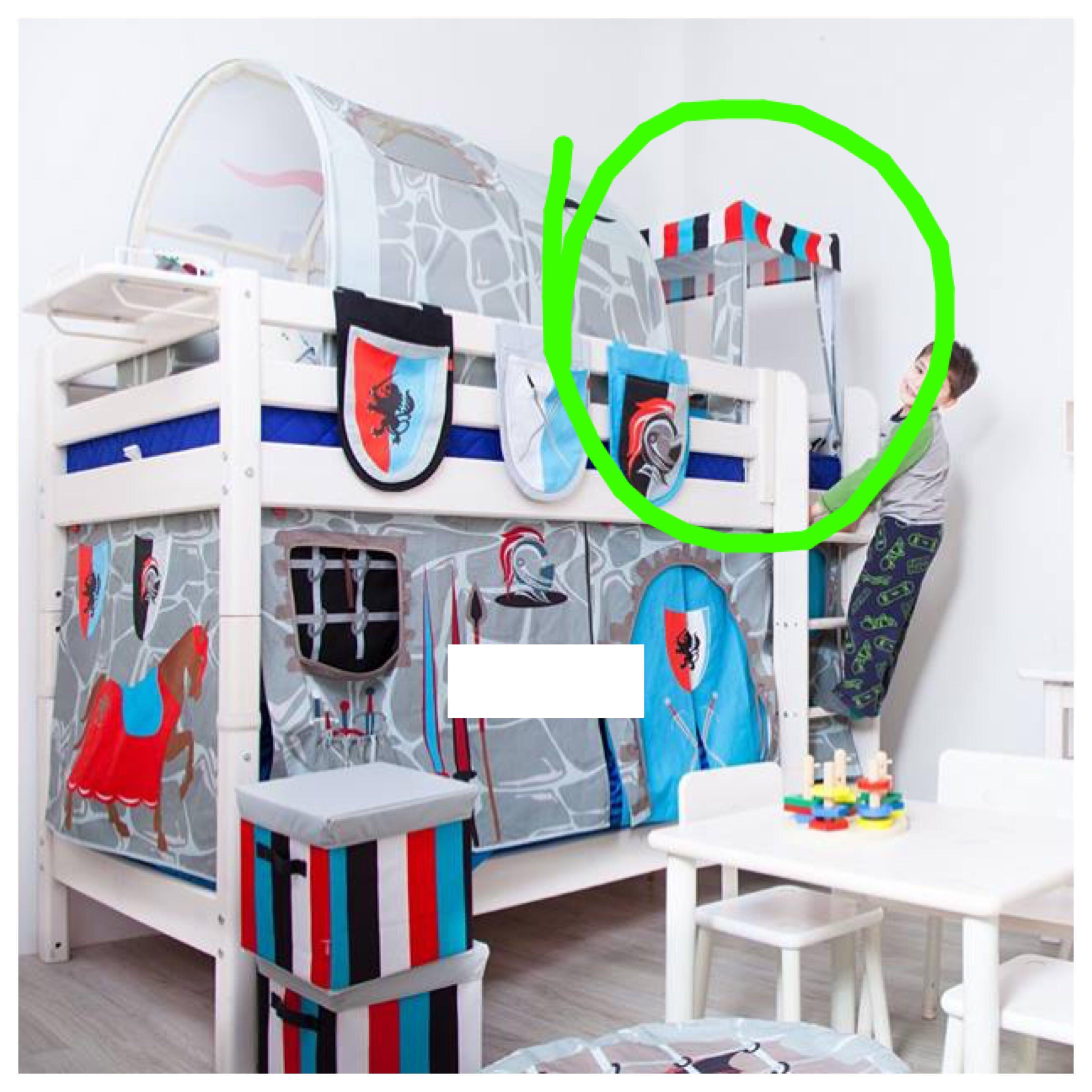 Flexa Tent Bed.Flexa Knight Themed Tent Cave Babies Kids Cots Cribs