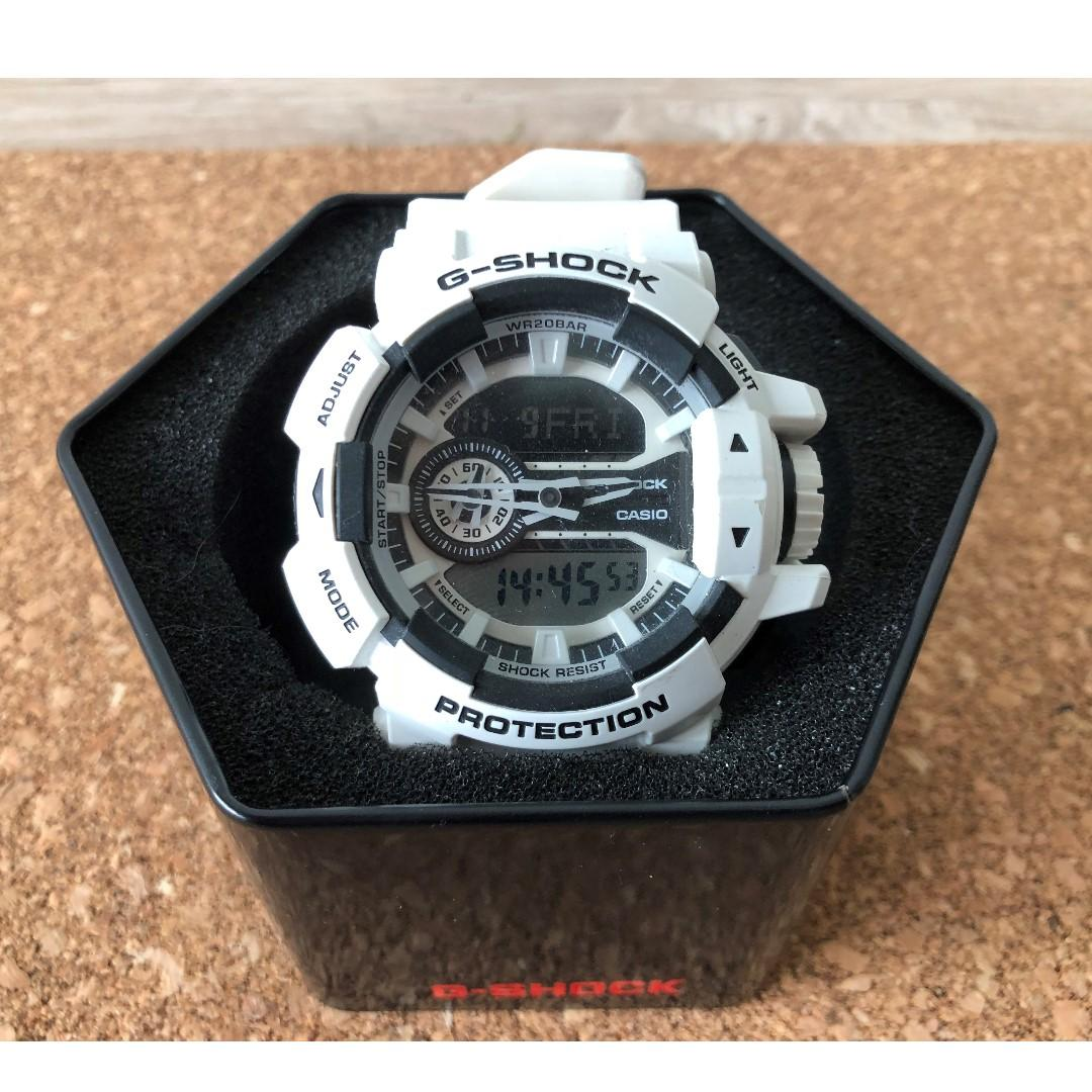 huge selection of 471fd bd242 G_SHOCK GA-400-7ADR, Men's Fashion, Watches on Carousell