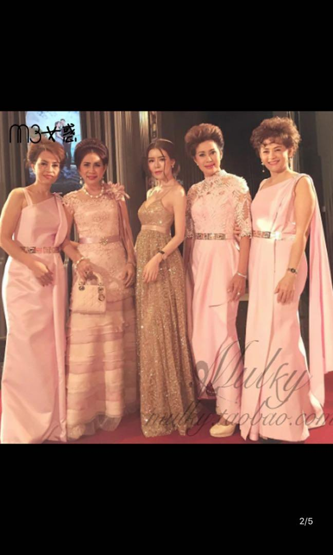 Golden formal dress ✨