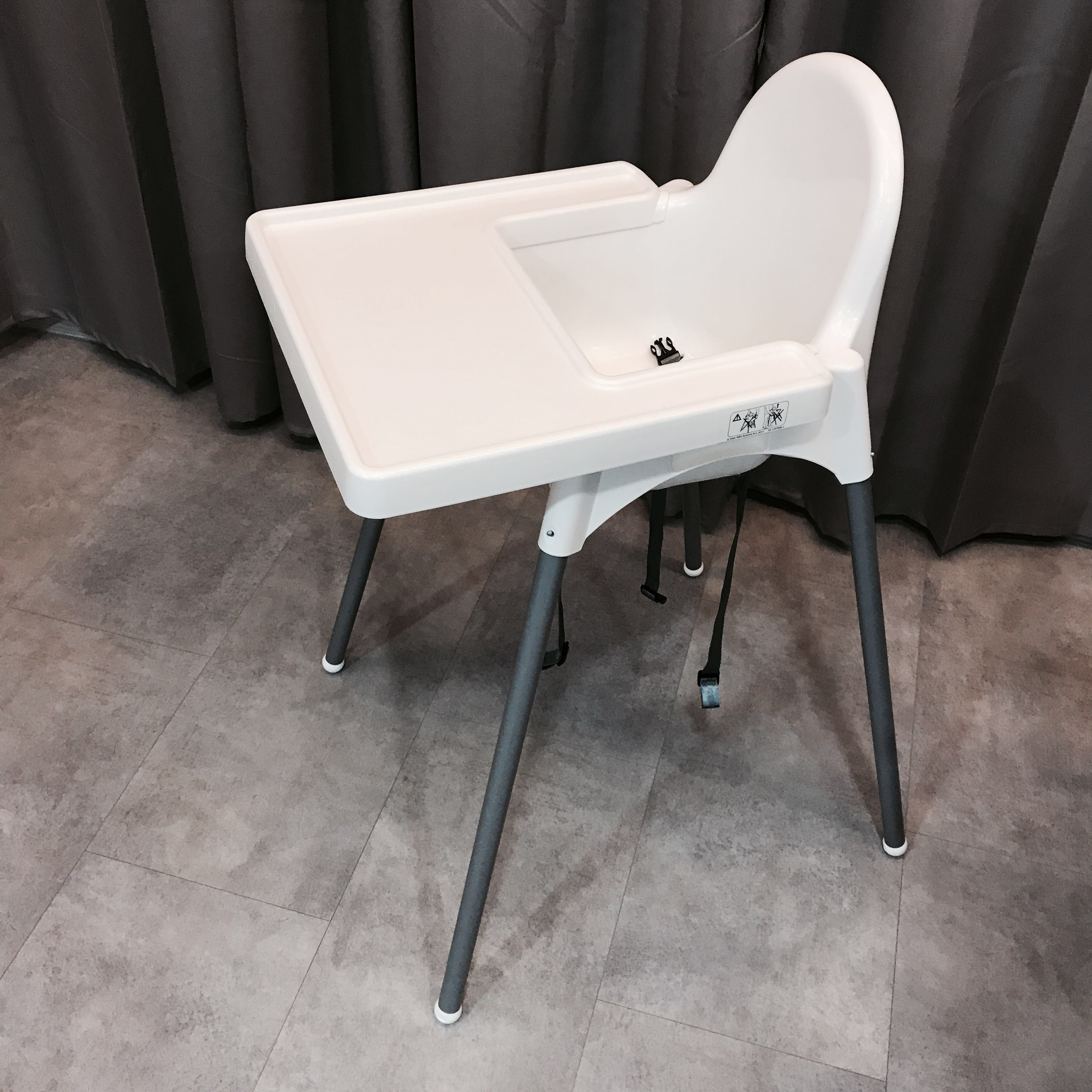 Ikea high chair no tray