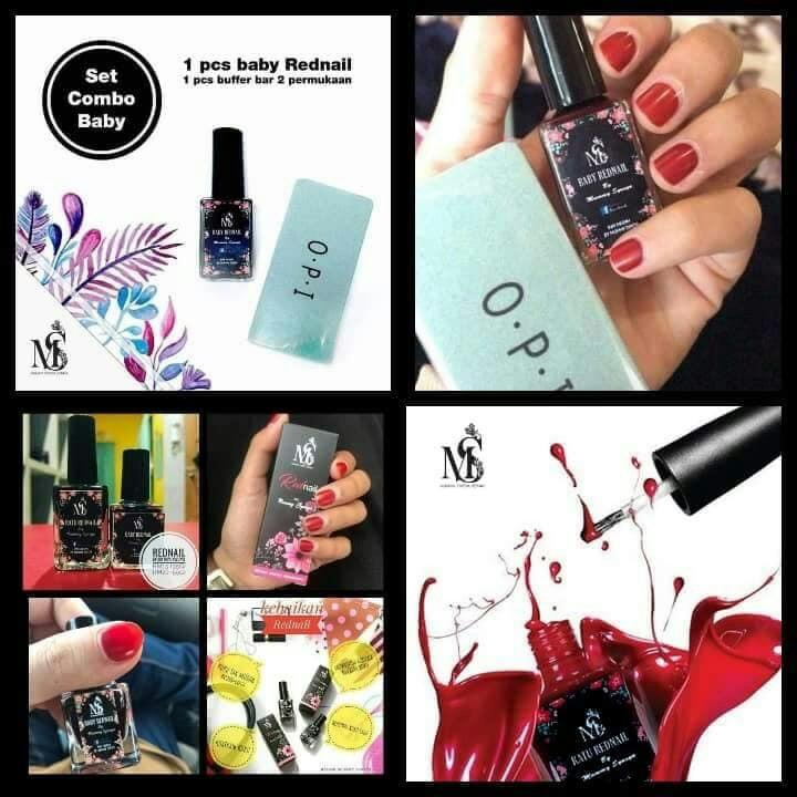 Inai kuku dan buffer 💅, Health & Beauty, Perfumes, Nail Care ...