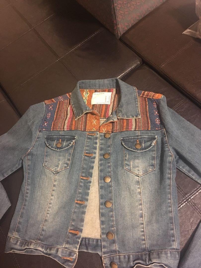 Jean jacket xs