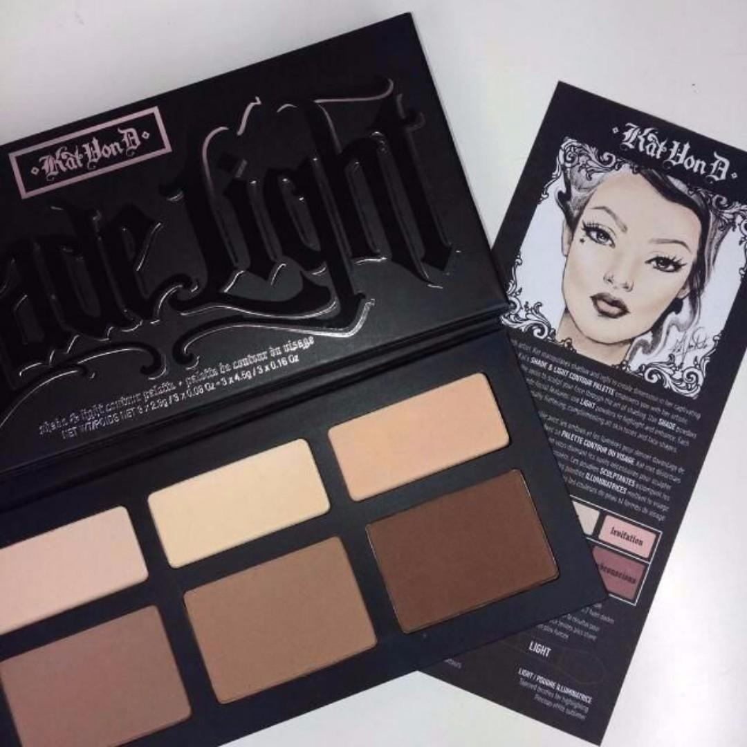 Kat Von D Shade + Light Contour Palette BRAND NEW & AUTHENTIC (PRICE IS FIRM, NO SWAPS) WHILE STOCKS LAST