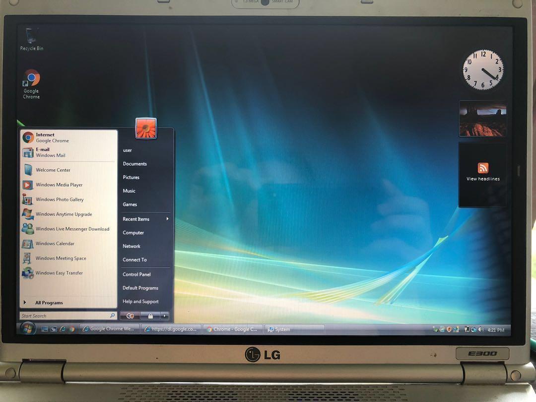 LG Laptop E300