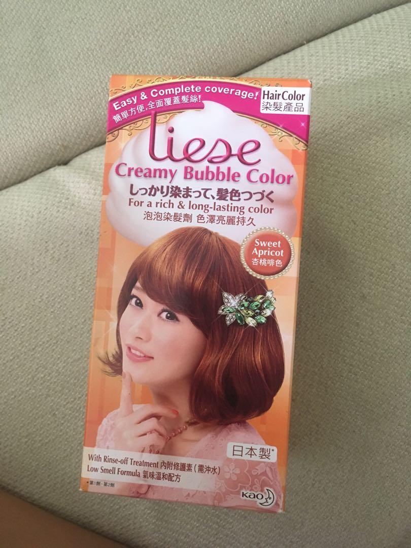Liese Hair Dye Sweet Apricot Health Beauty Hair Care On Carousell