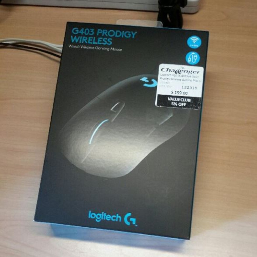 Logitech G403 Wireless Gaming Mouse, Electronics, Others on