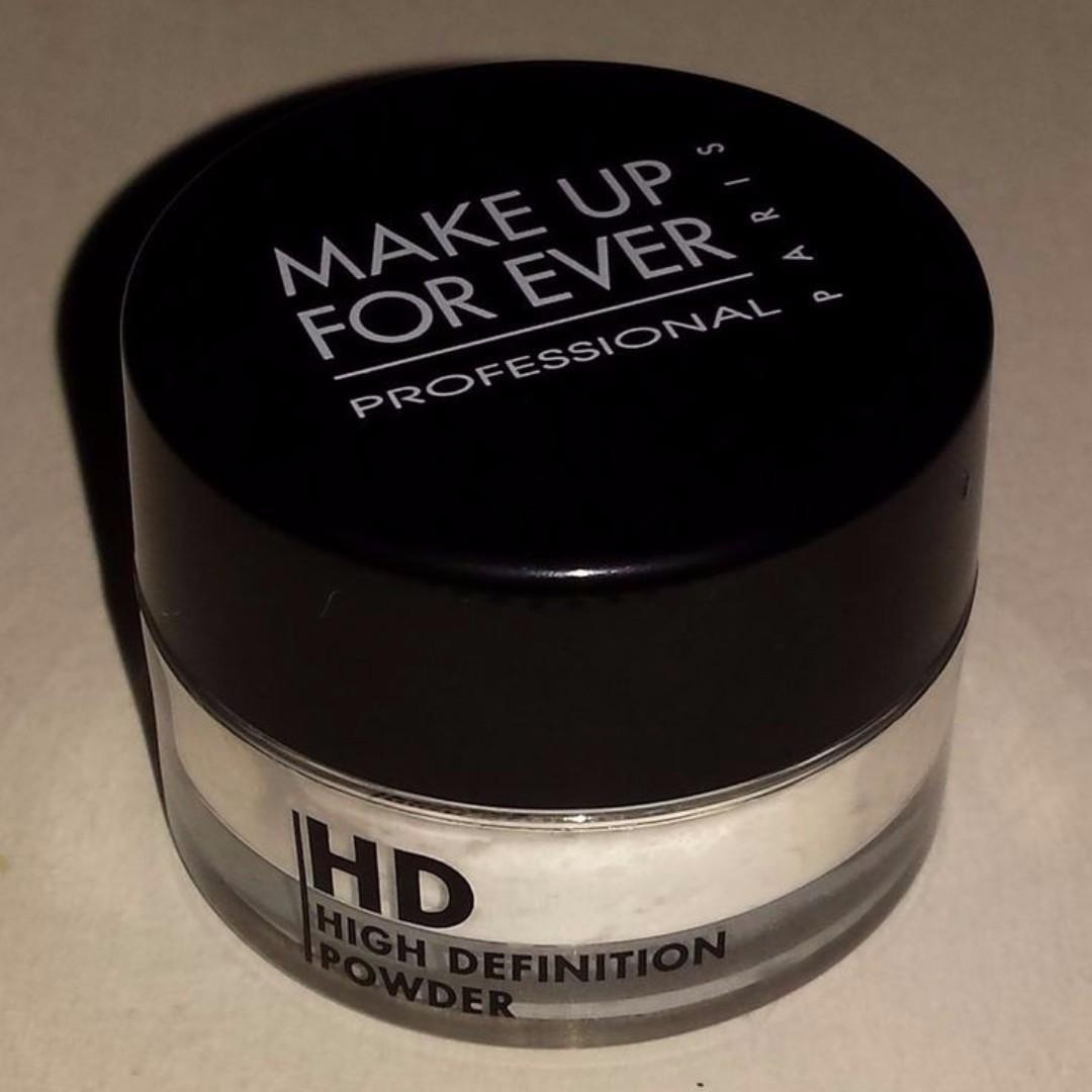 Makeup Forever High Definition Ultra Loose Powder HD Microfinish MINI SIZE1g BRAND NEW & AUTHENTIC (NO SWAPS, PRICE IS FIRM)