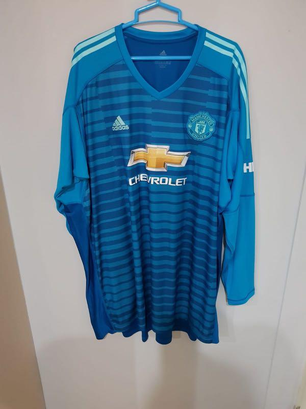 free shipping 78ed2 537d0 Manchester United 2018/2019 Goalkeeper jersey, Sports ...