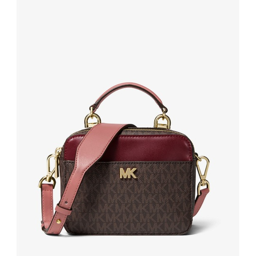 e277f8653930 Michael Kors Mott Mini Logo and Leather Crossbody, Women's Fashion, Bags &  Wallets, Handbags on Carousell