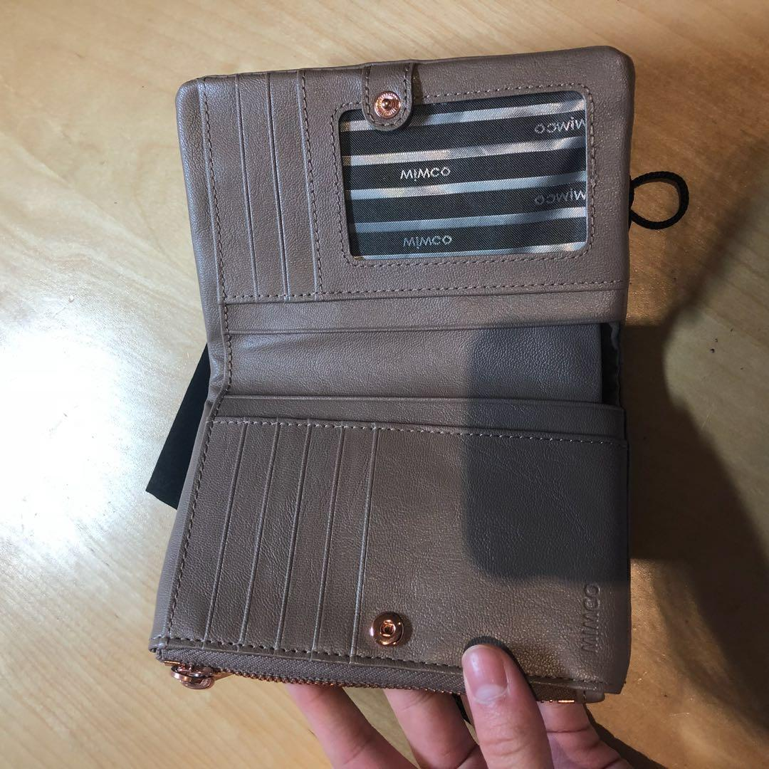 Mimco Two-compartment Pouch