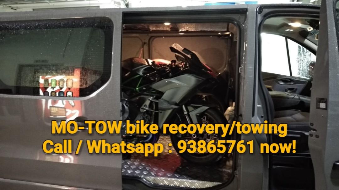 🇸🇬🇲🇾🇹🇭 Motorcycle Towing, Motorbikes, Motorbike