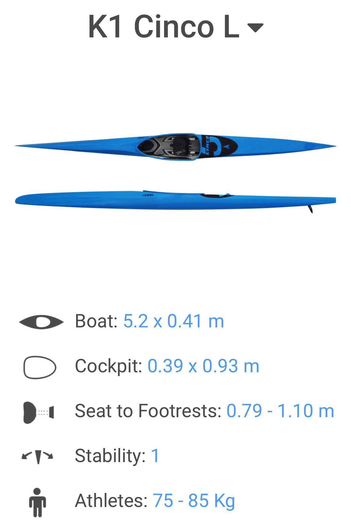 Nelo Sprint Kayak for sale, Sports, Sports & Games Equipment