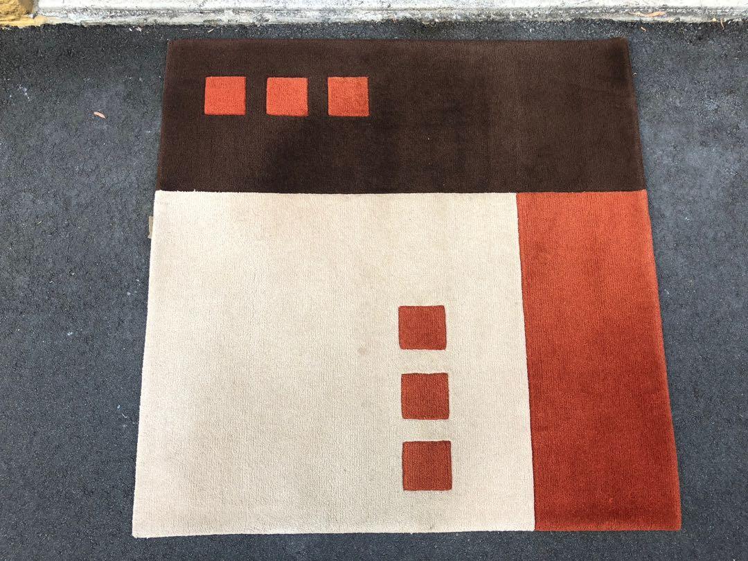 New Zealand Wool Custom Designed Rug