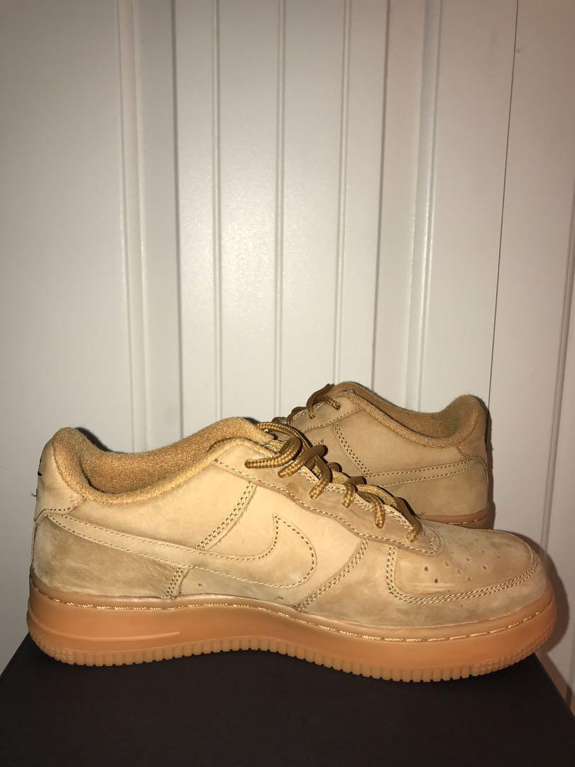 Nike Air Force 1 LV8 Tan Suede