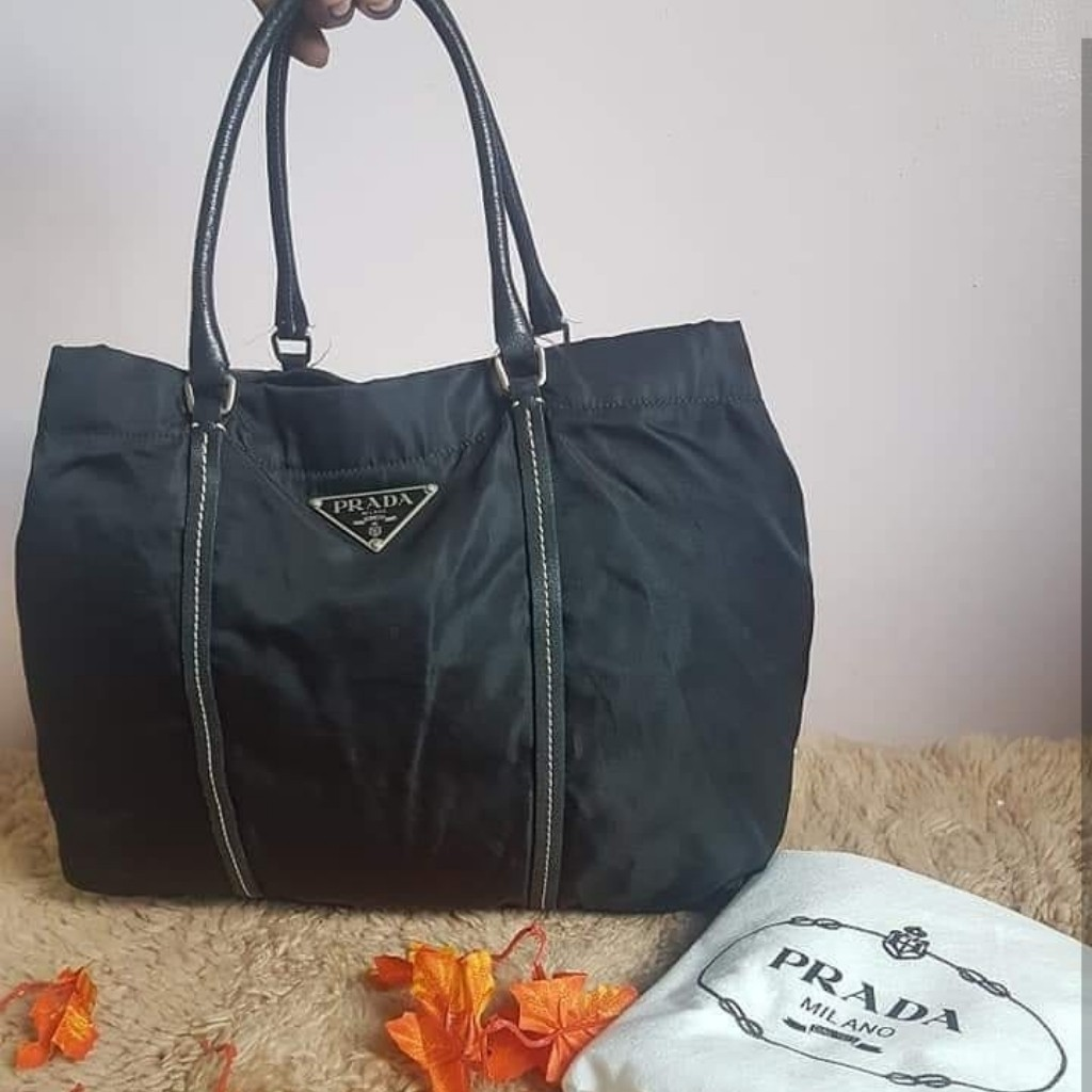 b94880f1aee Original Prada, Luxury, Bags & Wallets on Carousell