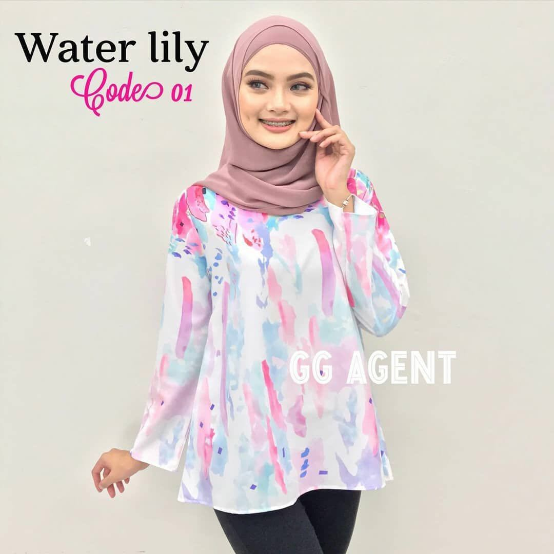 bf42626e77715d 🌼PREORDER Water Lily Blouse, Women's Fashion, Clothes, Tops on ...