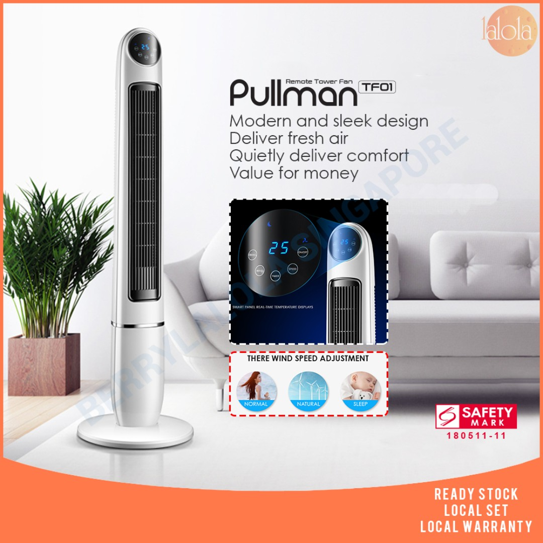✔FREE DELIVERY - Tower Fan Standing fan remote control climate control