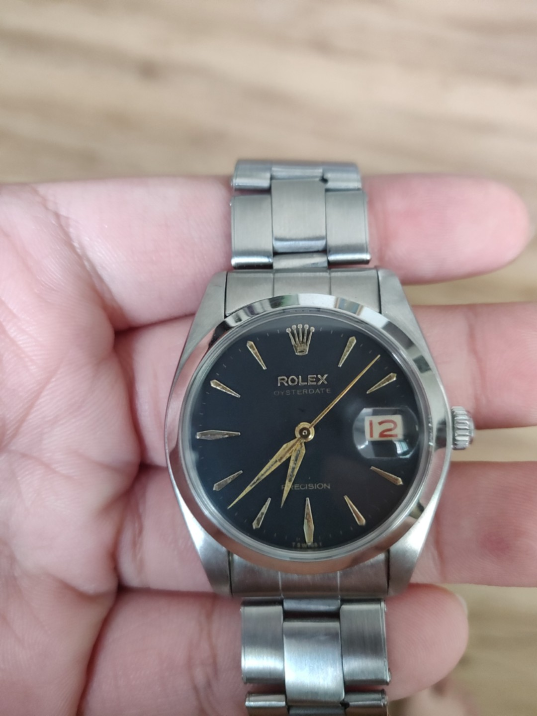 Rolex 6694 Dauphine Hands, Luxury, Watches on Carousell
