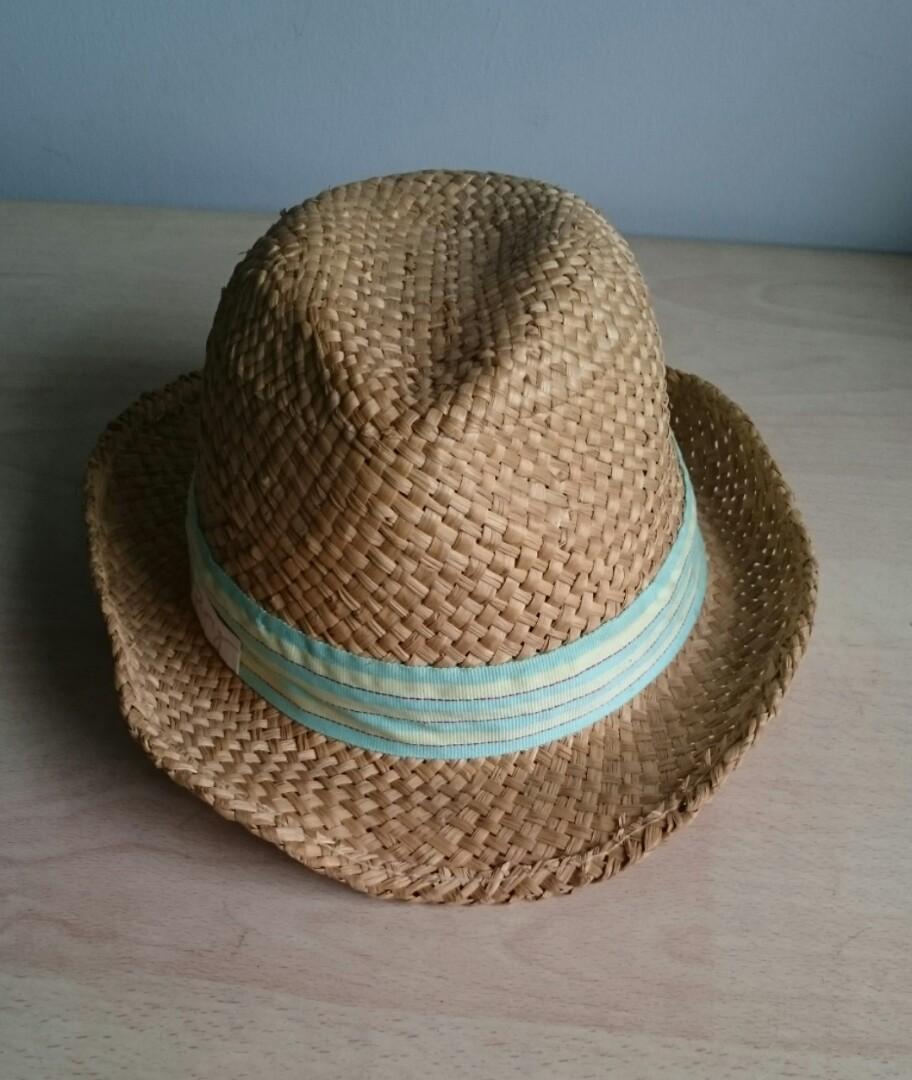 54a4fbdb17c ROXY Straw Fedora Hat