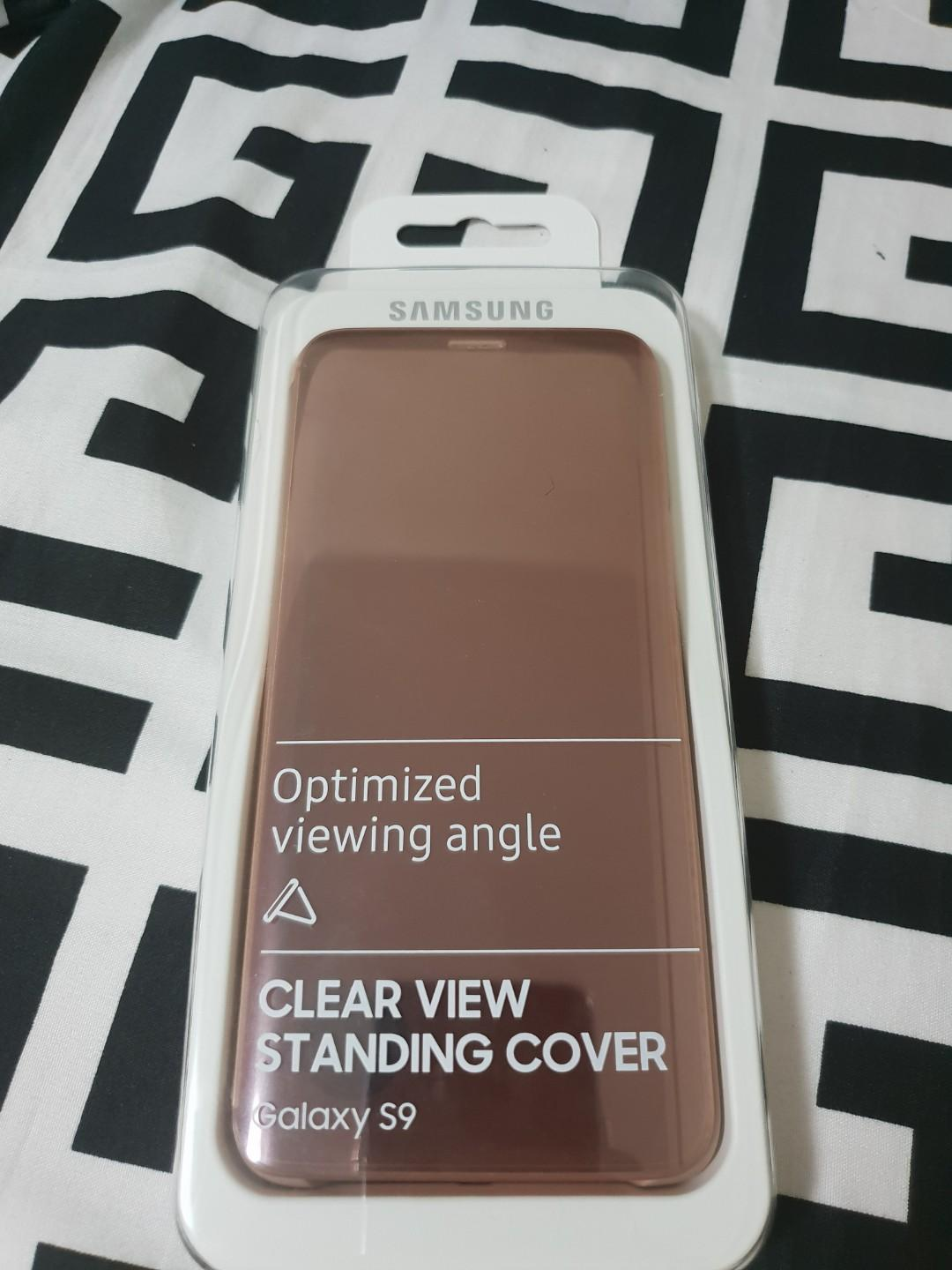 Samsung S9 Flip Case with Always-On Display on Carousell