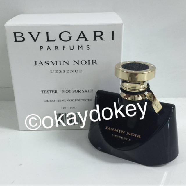 SOLD   50ml  Bvlgari Jasmin Noir L essence EDP Perfume Tester For ... 51d4afd9ce3