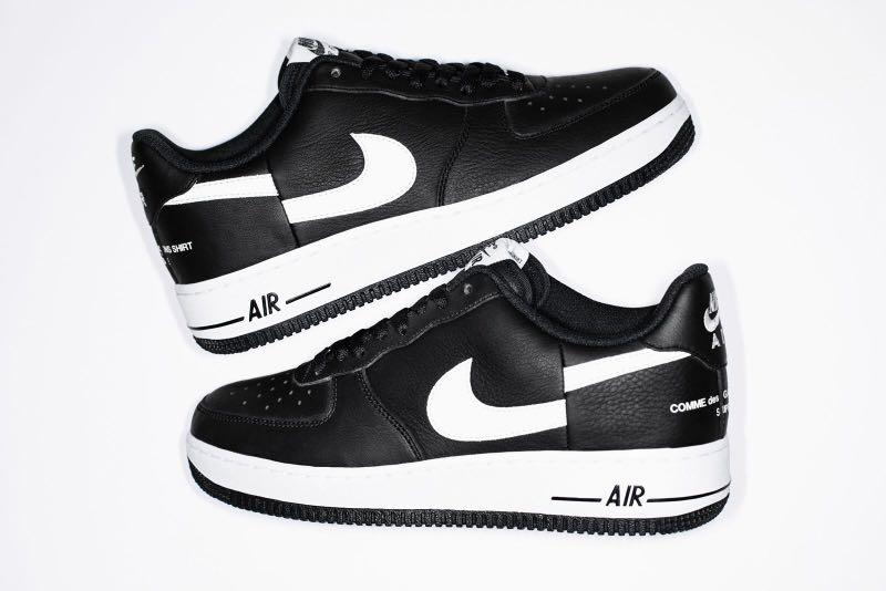 f52650cfea4ab2 Supreme X CDG X Nike Air Force 1