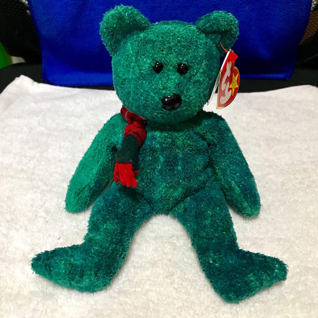 A07cd82924a Ty Beanie Babies Wallace The Bear 1 Of 1 See