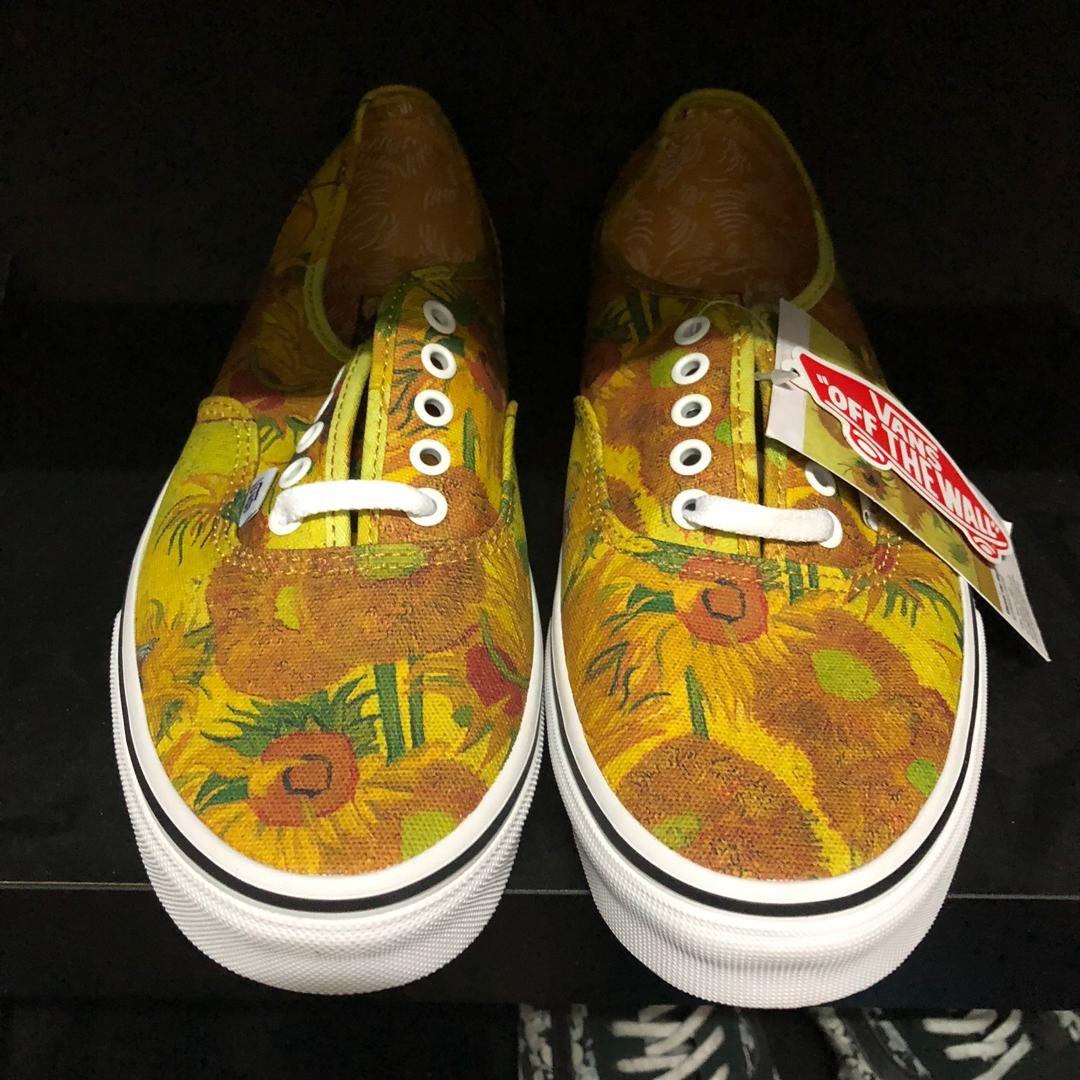 ca94fd38230 Vans X Van Gogh Sunflower