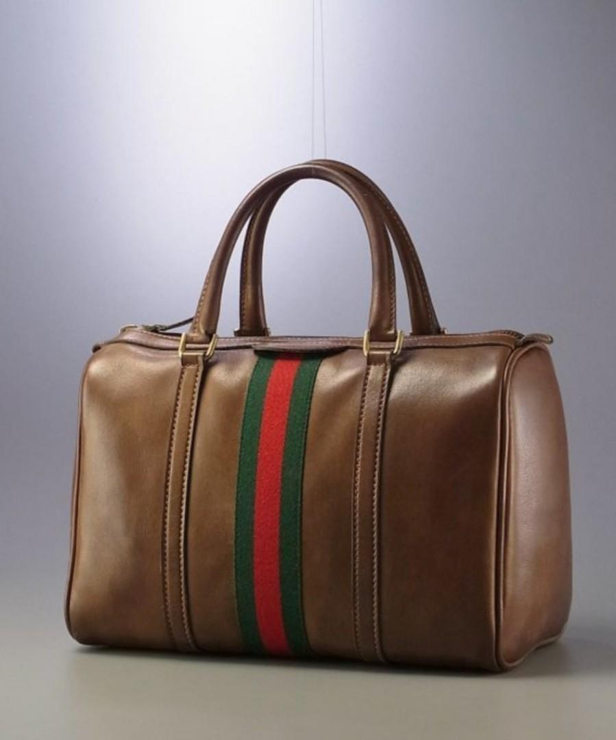 🈹️Vintage Gucci Boston Bag