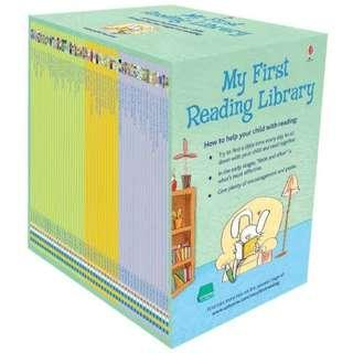 My first reading library By Usborne - 50 Books Box Set
