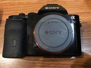 Sony A7s + 2 Ori batt + 4 third party batt + pro charger n straps n cables