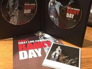 韓星Rain 비 The 1st Live Concert Rainy Day DVD