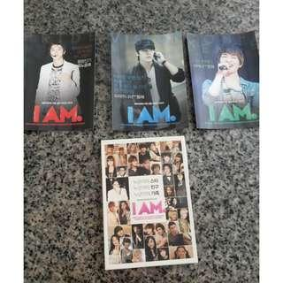 *OFFICIAL* IAM Official postcard(TVXQ Yunho, Shinee Onew and Super Junior Donghae)