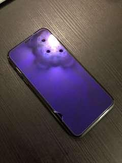 Anti blue ray glass ( for iPhone XS / X )