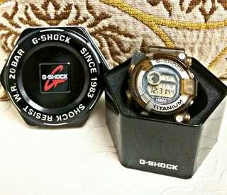 VINTAGE/LIMITED/RARE CASIO GSHOCK 2ND GEN FROGMAN DW-8200K 1996 THE 5TH INTERNATIONAL DOLPHIN & WHALE CONFERENCE IN BELGIUM