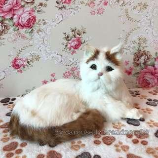 Cat Dog lifelike handcrafted for decoration collection adoption