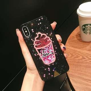 TPU Shining Ice Cream Bling Bling Case