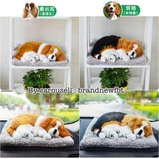 Fluffy Dog Cat lifelike handcrafted for decoration collection adoption