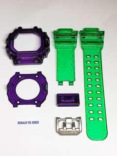 🌈🌈🌈Custom band and bezel / replacement strap for GX56 , gx56 , GX-56 , gx-56 , gx56bb , GX56BB , Casio , CASIO , Casio , joker colour