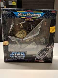(Mint Condition) 1994 STARWARS MicroMachines