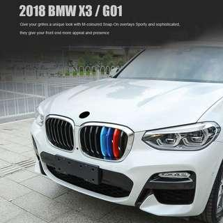 New arrival 2018 BMW X3-G01 Colour strips guarantee on fitment and colour