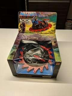 (Mint Condition) 1983 He-Man Masters of the Universe Roton Vehicle