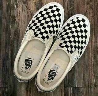 Vans Vault OG Slip On Black/White Checkerboard 1000% Original Trusted