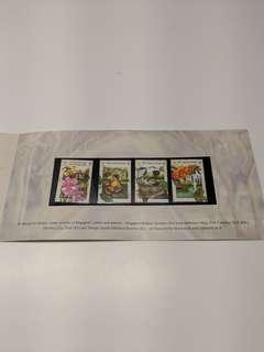 Vintage 2003 Singapore Garden City Stamps (Mint Condition)