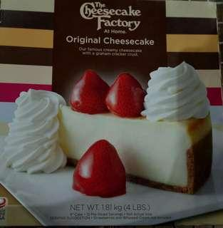 The Cheesecake Factory!