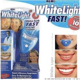 🚚 快速潔牙 美白燈 口腔護理冷光牙齒儀 LED