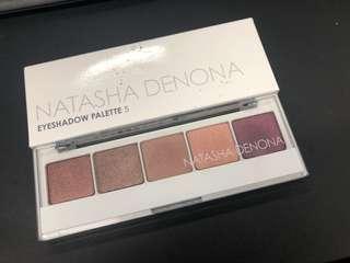 Natasha Denona 5shadow palette #2
